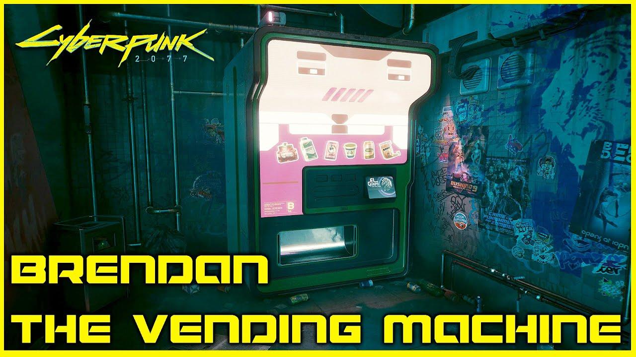 Cyberpunk 2077: Brendan the machine - so you solve the mission