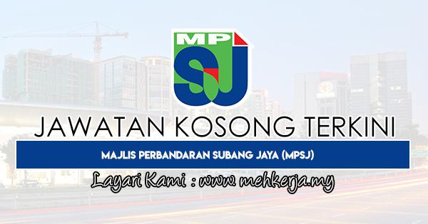 Jawatan Kosong Terkini 2020 di Majlis Perbandaran Subang Jaya (MPSJ)