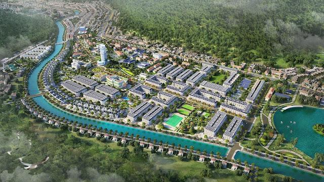Mở bán dự án Picenza Riverside Sơn La phường Chiềng An shophouse biệt thự liền kề