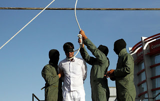Public hanging in Mashhad, Iran, May 17, 2016