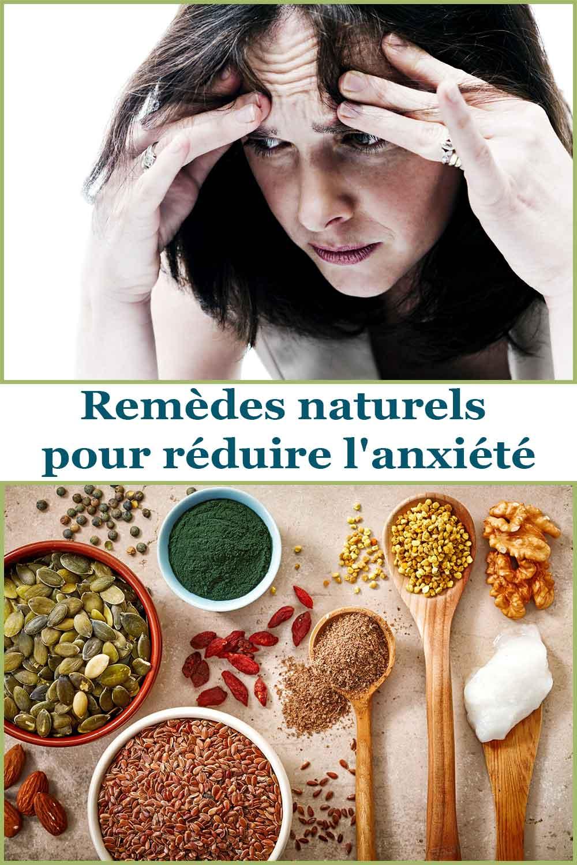 Remèdes naturels pour réduire l'anxiété