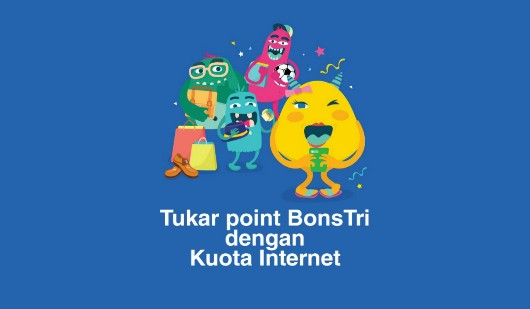 Tukar Point Bonstri dengan Voucher Internet