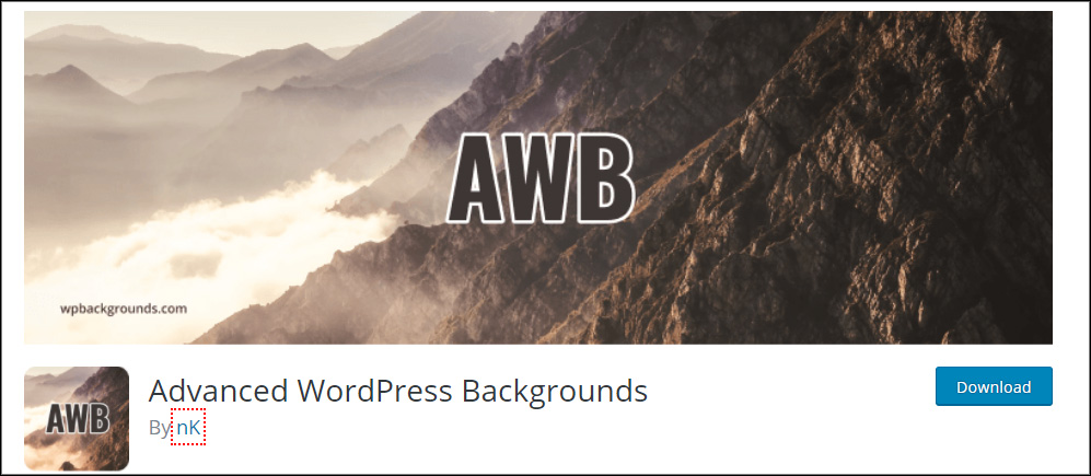 advanced wordpress backgrounds plugin (How do you change scrolling color menu using parallax in WordPress?)
