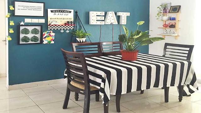 Desain meja makan modern