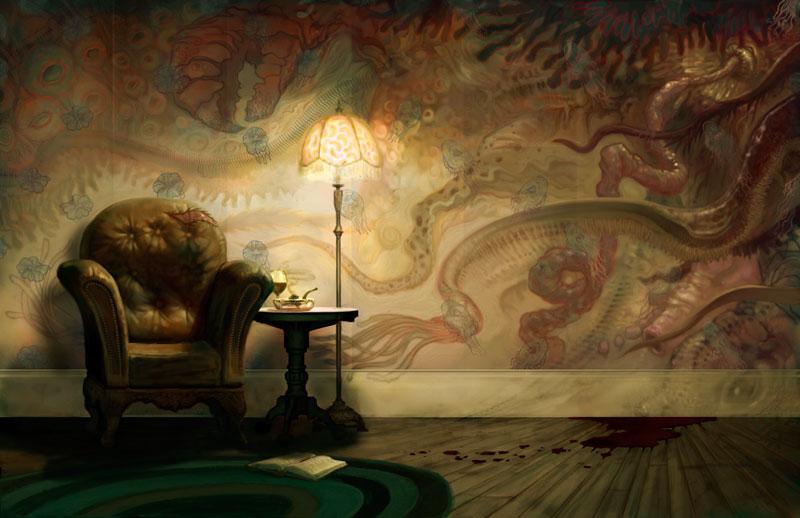 El Espejo Gótico Wallpapers de HP Lovecraft
