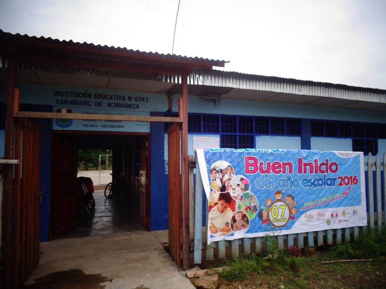 Escuela 0343 - San Miguel de Achinamiza