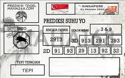 Kode syair Singapore Rabu 21 Oktober 2020 188
