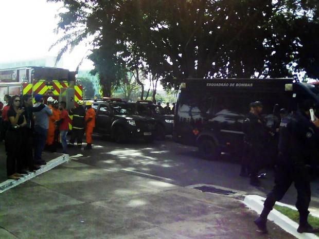 Ameaça de bomba esvazia prédios do Ministério da Agricultura no DF