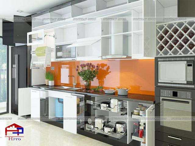 Mẫu thiết kế tủ bếp nhựa acrylic -10