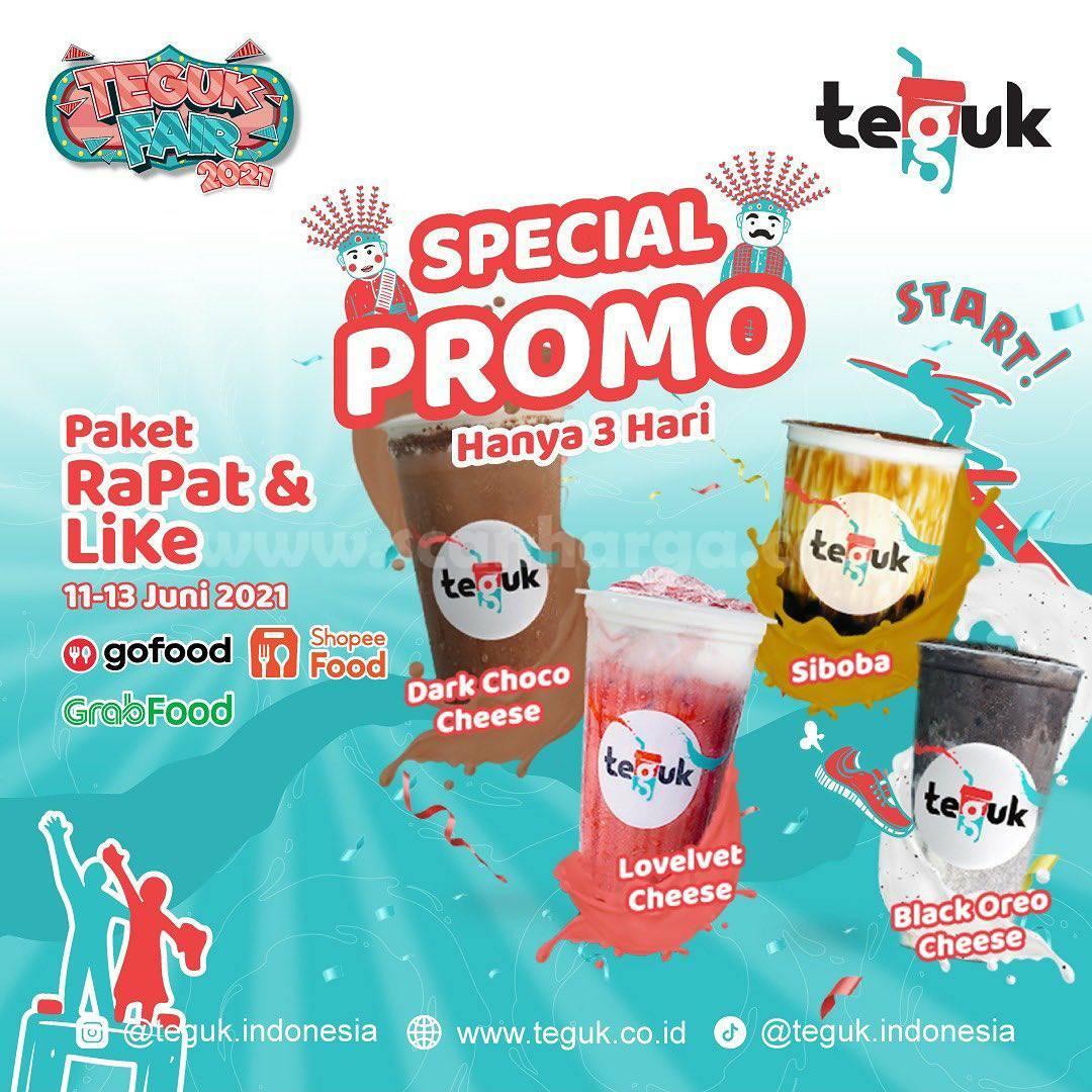 Promo TEGUK Spesial Paket Rapat & Like