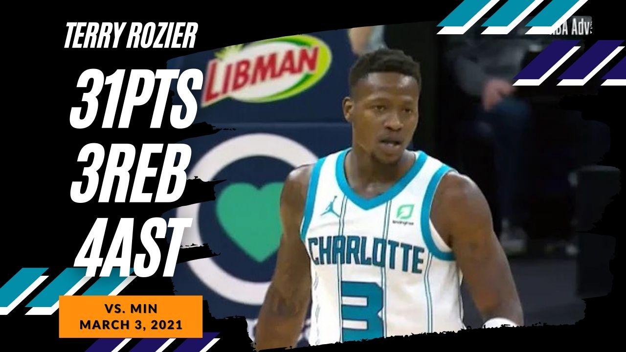 Terry Rozier 31pts 3reb 4ast vs MIN | March 3, 2021 | 2020-21 NBA Season