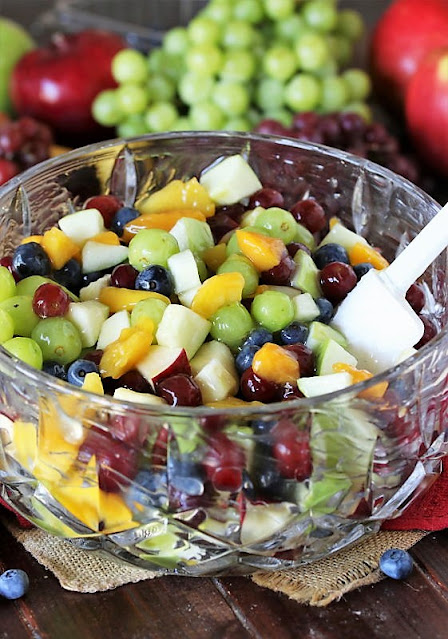 How to Make Peach Pie Filling Fruit Salad Image