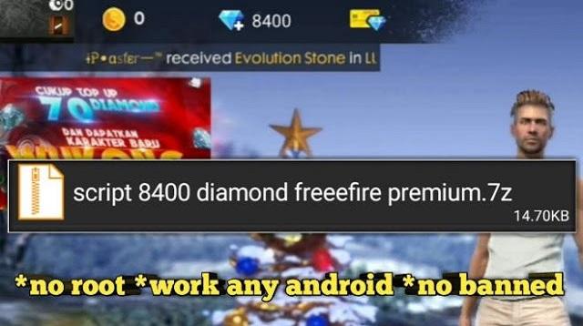 Cara Cheat Diamond Free Fire Tak Terbatas