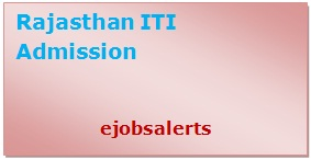 Rajasthan ITI Admission 2017