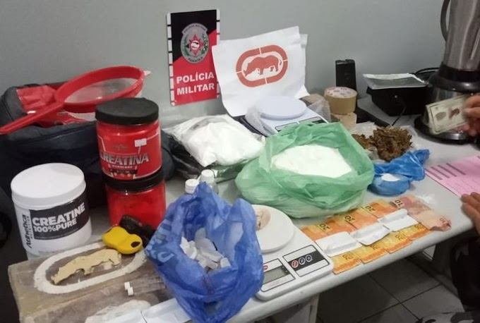 Polícia desarticula laboratório de refino de cocaína na cidade de Bayeux