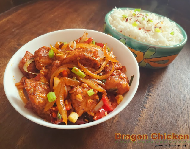 images of Dragon Chicken / Indo Chinese Dragon Chicken / Restaurant Style Dragon Chicken - Indo Chinese Recipes