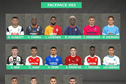 New Facepack Vol. 63 - PES 2017