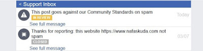 Support Inbox Facebook