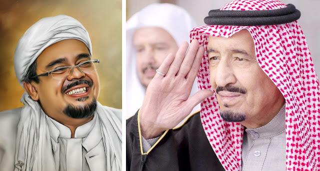 Raja Salman Ingin Bertemu Empat Mata Dengan Ketua FPI Habib Rizieq?