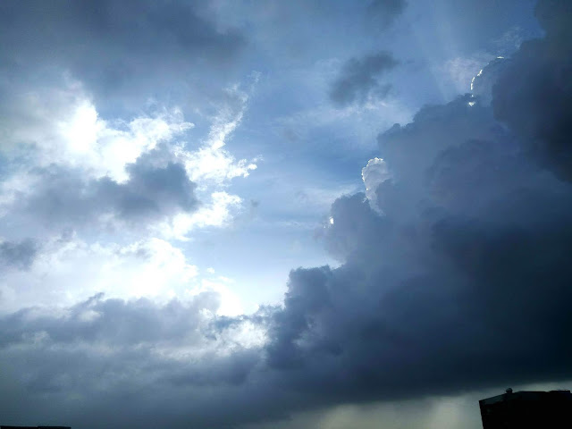 monsoon, clouds, sun, bandra, mumbai, incredible india, skywatch, sky