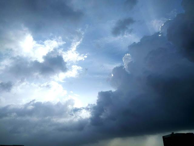 monsoon, clouds, sun, bandra, mumbai, incredible india, skywatch, sky
