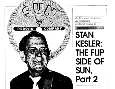 Soulful Music: Great Stan Kesler Interview