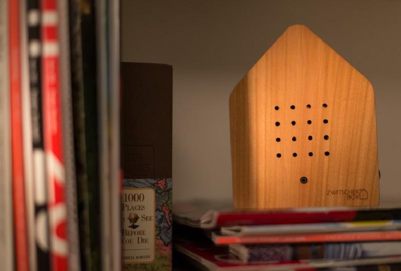 Zwitscherbox, la casetta per gli uccellini da ascoltare in casa