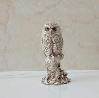 Owl Statue Fengshui Vastu Decorative Item Showpiece for Home Office Desk Shelf Decoration