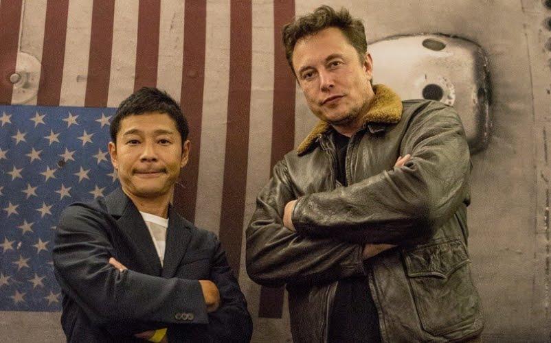 Primo Turista Spaziale di SpaceX è un miliardario giapponese: viaggio alla Luna per un progetto artistico.