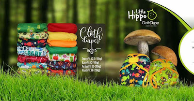 Berkenalan dengan Little Hippo Cloth-Diapers