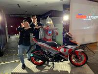 Motor Malaysia Limited Edition Yamaha Y15ZR x Ultraman Berharga RM12,688 150cc