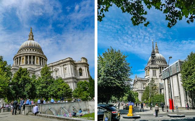 Catedral de Saint Pail, em Londres