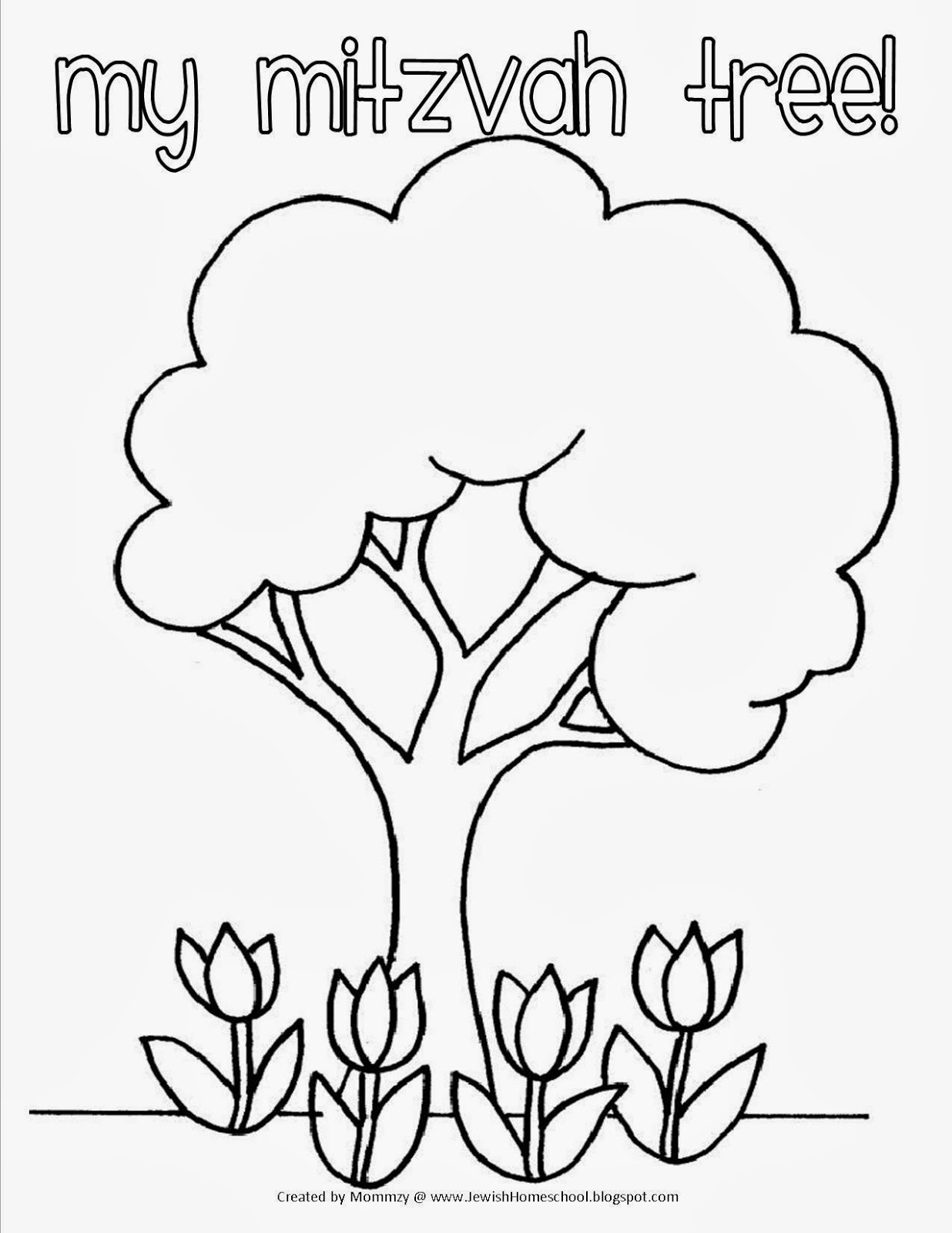 tu b shvat coloring pages - photo#15
