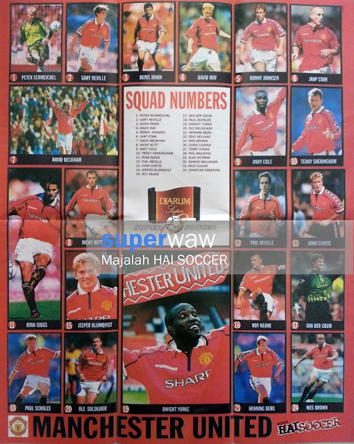 Skuad Manchester United 1998