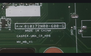 HP ProBook 6570b Mainboard CASPER-UMA_CR_HPB MV_MB_V1 Laptop Bios