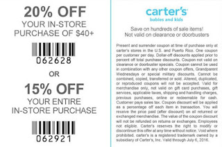 photograph regarding Carters Printable Coupons titled Carters Printable Discount codes May well 2018 - Details Coupon codes 2018
