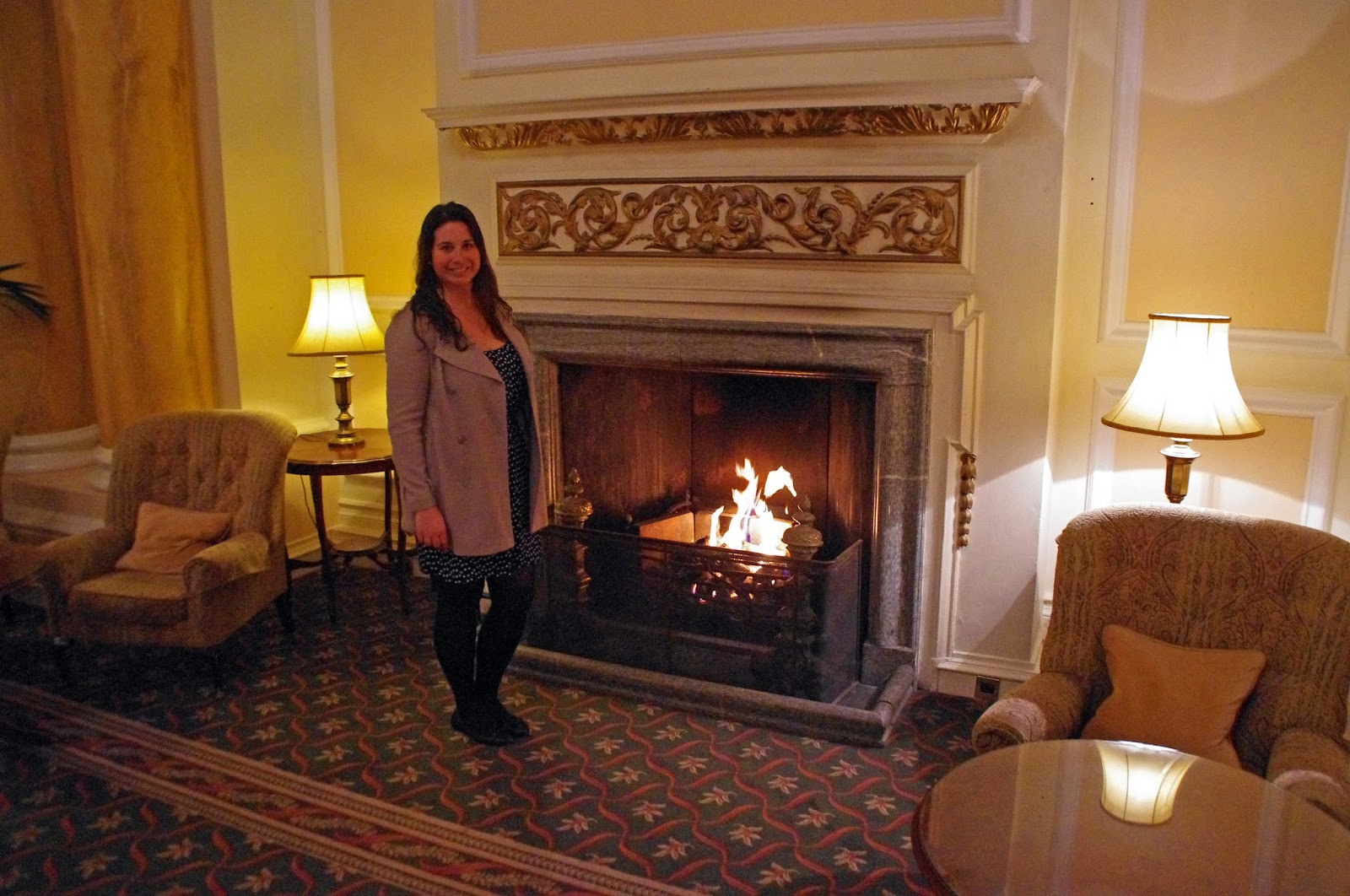 The Grand Hotel Eastbourne Palm Court Fireplace