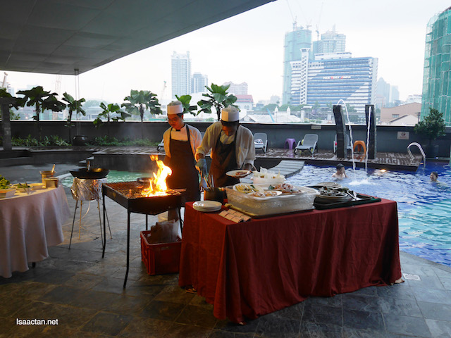 Poolside Barbecue Buffet Dinner @ Furama Bukit Bintang, Kuala Lumpur