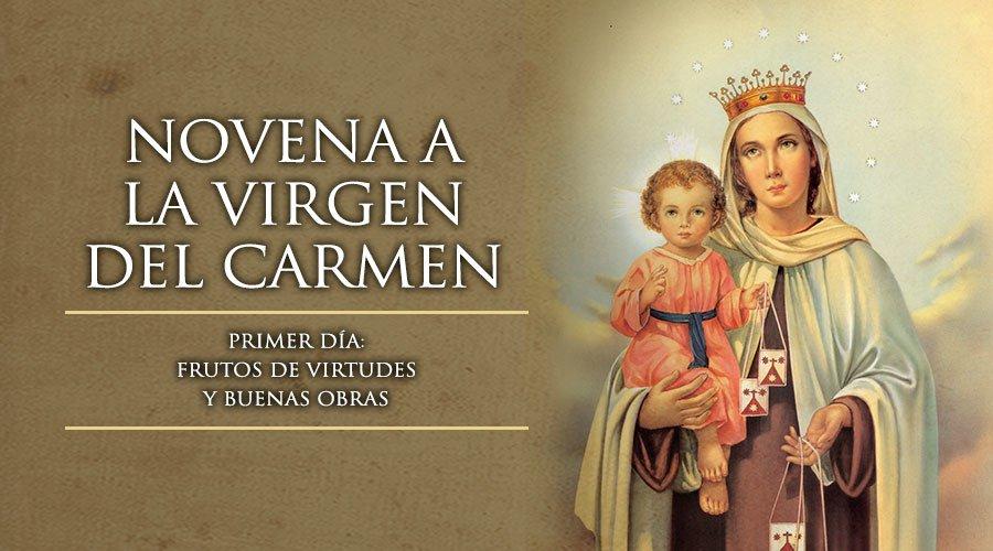 174 Blog Cat 211 Lico De Oraciones Y Devociones Cat 211 Licas 174 Novena En Honor A La Virgen Del Carmen Del 7 Al 15 De Julio
