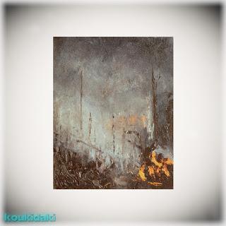 Πίνακας ζωγραφικής Jennifer Walton (Smoke, λάδι σε καμβά)