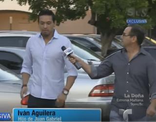 Iván Aguilera, expresó espera feliz reunirse con Luis Alberto Aguilera