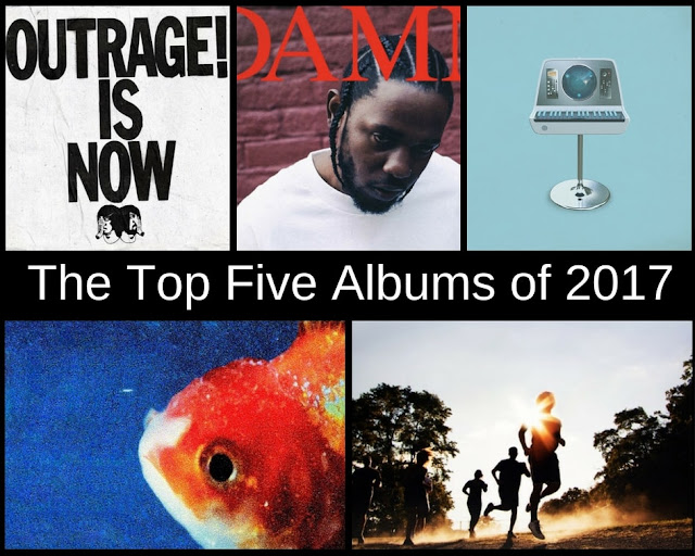 The top five albums of 2017