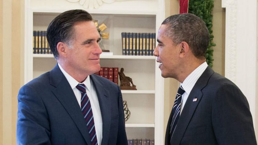 Mitt Romney and Barack Obama on Reconciling Faith