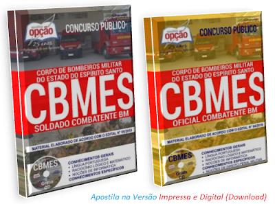 Apostila Soldado Combatente BM CBMES concurso PM/BM ES