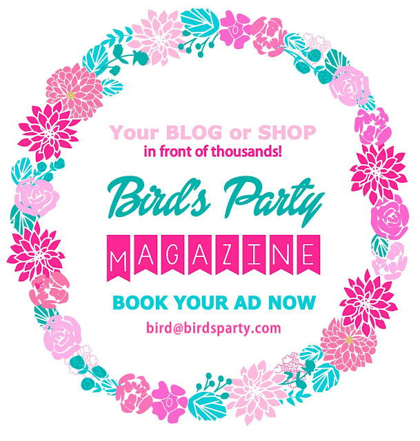 Party Ideas Summer Magazine by BirdsParty.com @birdsparty