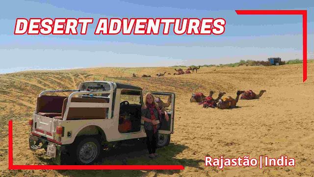 Safari no Deserto de Thar em Jaisalmer