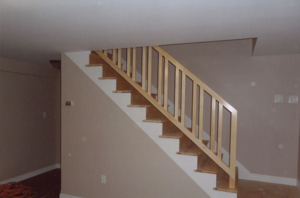 Leonard Vandenberg Construction Removable Stair Rail W