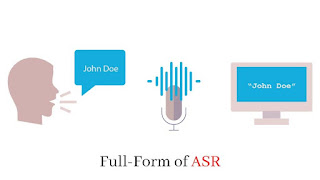 Full-Form of ASR