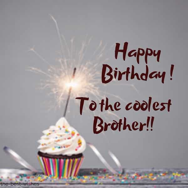 happy birthday wishes to brother from sister