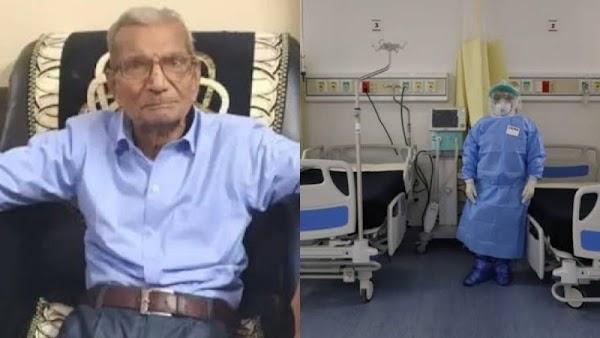 """""""Yo ya viví mi vida"""", dice abuelito con Covid que cedió su cama para poder hospitalizar a un joven"""